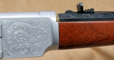 Uberti Winchester Model 1873 Rifle Barrel Breech - .357 Magnum, by Les Schowe