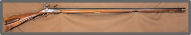 Flintlock Rifle, Kentucky / Pensnsylvania Rifle, 54 cal, Carved, For Sale,  by Les Schowe